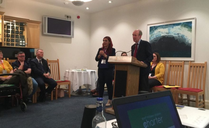 Minister Ross Launches Ireland's first Sport Inclusion Disability Charter