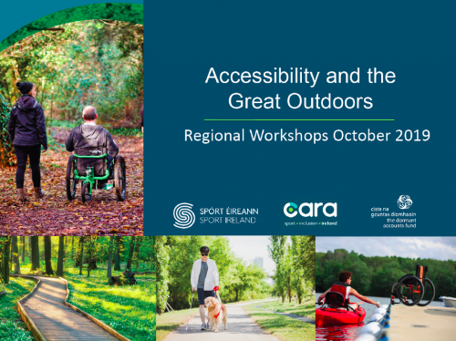 Accessibility and the Great Outdoors