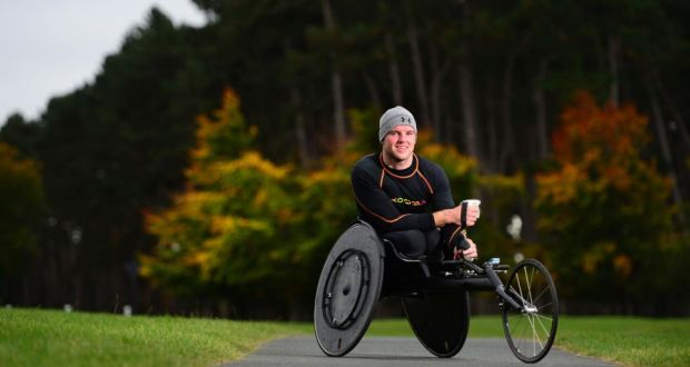 """The sport you enjoy doesn't have to be the one your best at.""  Patrick Monahan's Story"