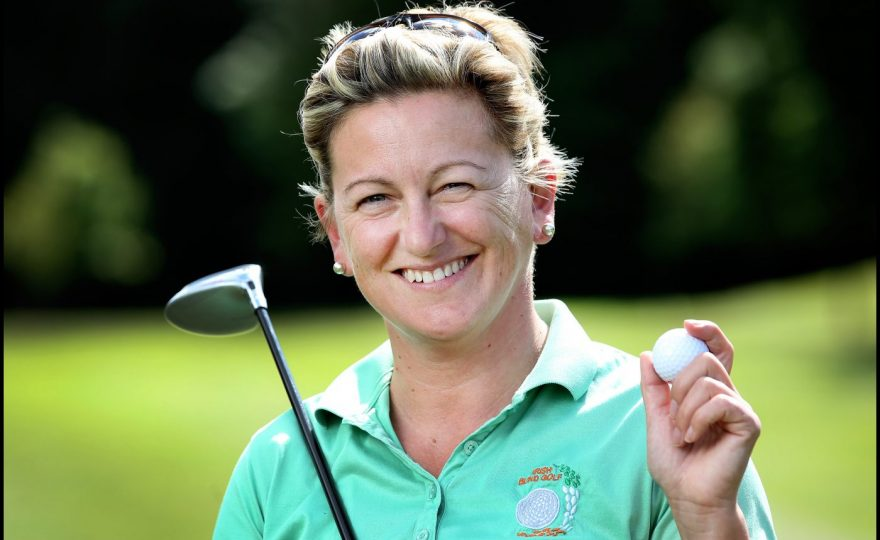 """""""Nothing holds me back from playing golf"""" – Carol Brill's story"""