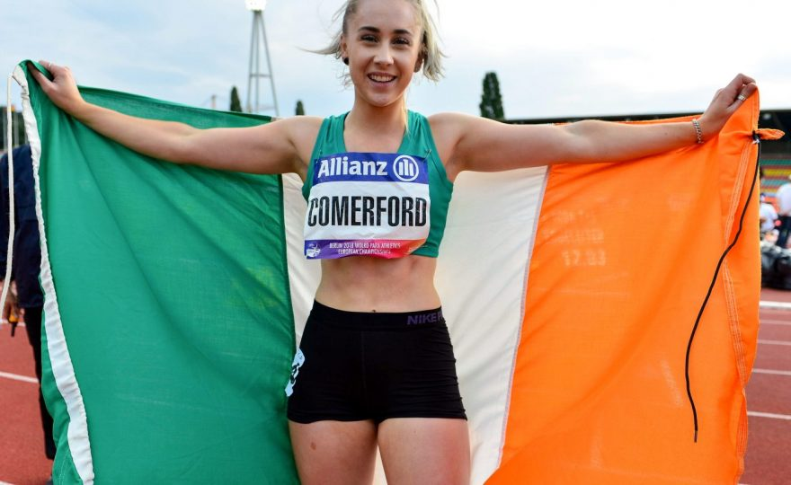 """""""There's a place for everyone in sport, it's about getting out, getting active and enjoying it."""" – Orla Comerford's story"""